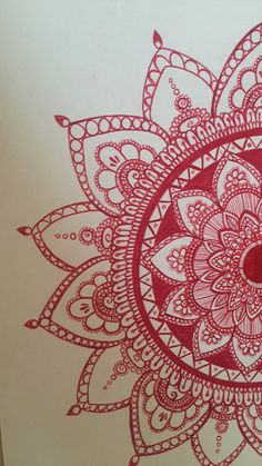 Mandala drawing by RegalBees on Etsy