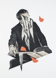 EnnuiCollage on paper30 x 42 cm