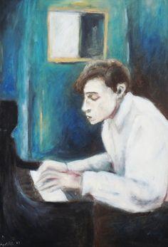 Glenn Gould by Shoshana Kertesz