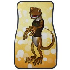 Check out our huge selection of Funny car floor mats. Shop our designs, images, photo, & text to find some artwork to protect your car floor! Car Floor Mats, Car Mats, Cute Gecko, Car Humor, Scooby Doo, Flooring, Cartoon, Funny, Artwork