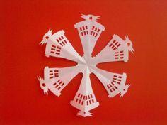 Tardis snowflake template