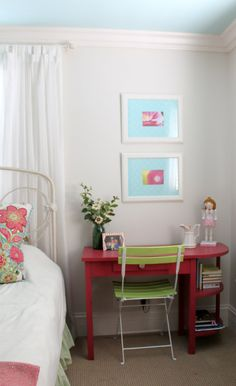 Sherwin Williams White Duck - guest room