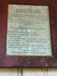 Estação Ferroviária Engenheiro Homem de Mello - Monte Alto / SP