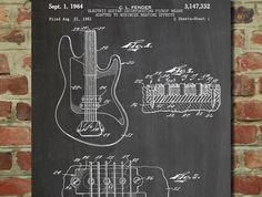 Fender Guitar Pickups patent  - www.eklectica.in #eklectica