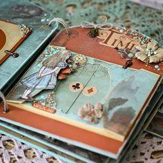 """ScrapMir: Interactive album """"Door to Wonderland. Mini Albums, Mini Album Scrap, Mini Scrapbook Albums, Scrapbook Paper Crafts, Alice In Wonderland Crafts, Tarjetas Diy, Alice Book, Quiet Book Templates, Mad Hatter Party"""