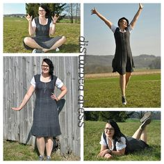 Sabine has knitted the Icon Dress and she looks so happy in the photos! Full story on blog: http://bit.ly/1oX1Ulb