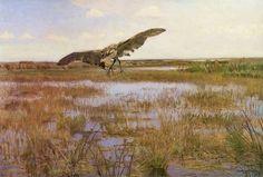 Czapla bąk - Józef Chełmoński (1891)