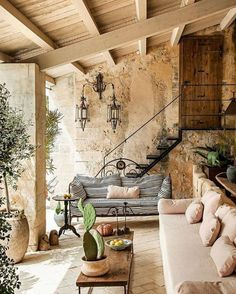 Looks like a house I'd like to have in Lebanon Sieht aus wie ein Haus, . Looks like a house I'd li Outdoor Rooms, Outdoor Living, Outdoor Decor, Exterior Design, Interior And Exterior, Design Jardin, Tuscan Decorating, Cool Ideas, Diy Ideas