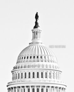 Washington DC Art Black and White Photography by PausePhotography, the 8x10 print.