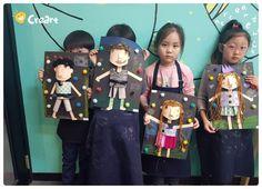 Diy For Kids, Crafts For Kids, Arts And Crafts, Diy Crafts, Cherry Blossom Art, Leaf Drawing, Cardboard Art, Paper Artwork, Baby Shower Balloons