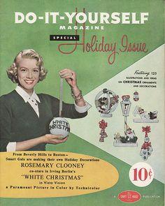 Vintage holiday DIY.