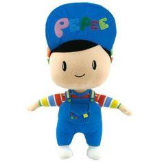 PEPEE BEZ OYUNCAK 30 CM :: Sistem Ticaret http://www.sistemticaret.com/pepee-bez-oyuncak-30-cm.html    Türkiye'nin ilk yerli çizgi film karakteri  Pepee'nin 30 cm uzunluğundaki bu oyuncağı nylex kumaştan üretilmiştir. Pepee  bez oyuncağın içi silikon ve elyafla doldurulduğundan yumuşaktır ve çocuklarınız  severek oynar. Pepee karakterinin detaylı hatlarına sahip olan bu oyuncağı  makinede yıkamanız önerilmez. Aksi halde karakterin yapısında deformasyon oluşabilir.