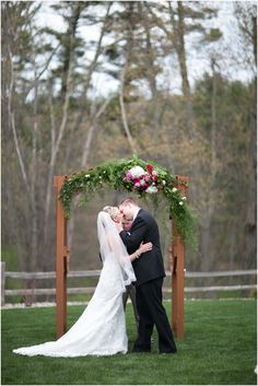 Another beautiful Fall wedding at Glacier Canyon.   Photo Credit: Abby Clements Photography