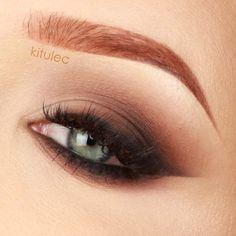 kitulec beauty blog: TUTORIAL: Prom Bold Cat Eye - Makijaż studniówkowy