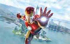 Download wallpapers 4k, Iron Man, superheroes, IronMan