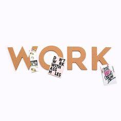 Work Cork Board Cork Boards, Logos, Handmade Gifts, Etsy, Kid Craft Gifts, Cork Panels, Logo, Craft Gifts, Diy Gifts
