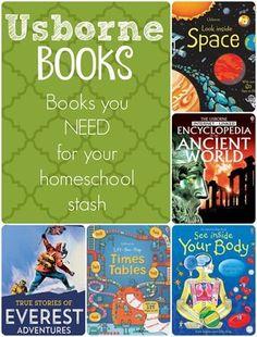 Usborne Books you NEED for your Homeschool Stash