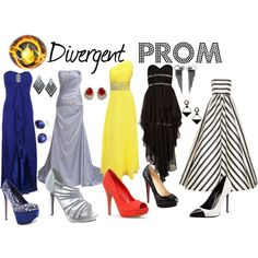 """""""Divergent Prom"""" by thalia-wilson on Polyvore"""
