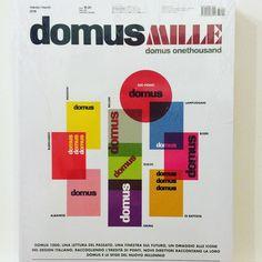 The venerable @DomusWeb has reached 1000 issues. #domusonethousand is a #musthave #architecture #domus #design #burkhardt #mendini #gioponti ##lampugnani #bellini #boeri #sudjic #dibattista #grima #albanese #milan