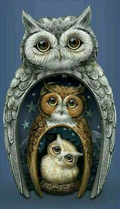 ideas for tattoo cute owl birds Owl Photos, Owl Pictures, Owl Bird, Bird Art, Owl Artwork, Owl Wallpaper, Owl Illustration, Owl Family, Beautiful Owl