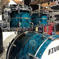 This amazing @officialtamadrums Star kit is coming to DCP! #namm #namm2016…