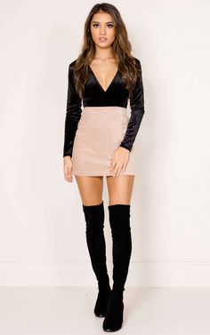 Showpo Get Better skirt in dusty pink - 6 (XS) Skirts Fall Fashion Skirts, Winter Fashion Outfits, Fall Winter Outfits, Trendy Outfits, Autumn Fashion, Fashion Dresses, Cute Outfits, Rock Chic, Women's Dresses