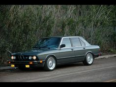 1985 BMW 535i: just bought one of these and am really pleased with it so far!
