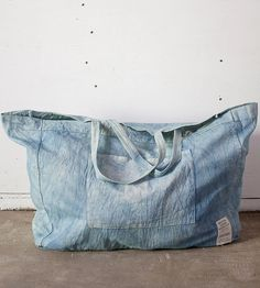 Oversized Market Hemp & Organic Cotton Tote Bag by KAM Textiles on Scoutmob Shoppe