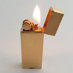 VERY RARE 18K solid gold lighter by VAN CLEEF & ARPELS, France 1930's - eBay - Pict 1