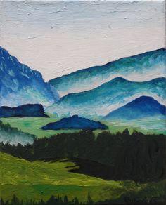 Landscape - Acrylic Paint