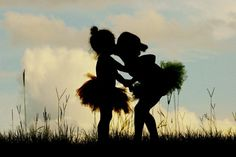 TuTu Cute! / ~ Silhouette Sisters ~ ... oh, I love this so much!
