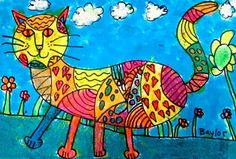 """From exhibit """"Calico Cats for KidsArtFair"""" by Baylor17"""