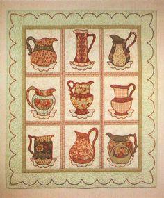 Cup Of Tea Quilt Pattern Quilt Patterns Quilt Patterns