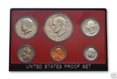 1977-S-United-States-Mint-Proof-Set-6-Coins-OGP
