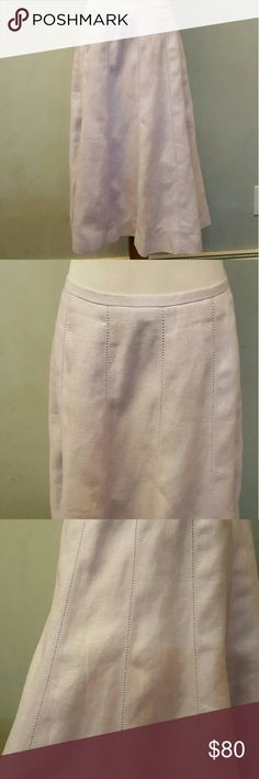 Talbots lavender linen skirt NWOT talbots lavender linen skirt. Brand new never used with out tags. Talbots Skirts Midi
