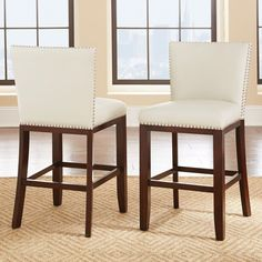 Steve Silver Tiffany Counter Chair - Set of 2 - SSC2394-2