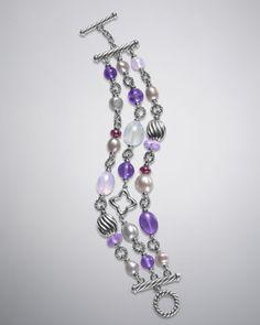 Bijoux Bracelet, Amethyst by David Yurman at Neiman Marcus.    $1350