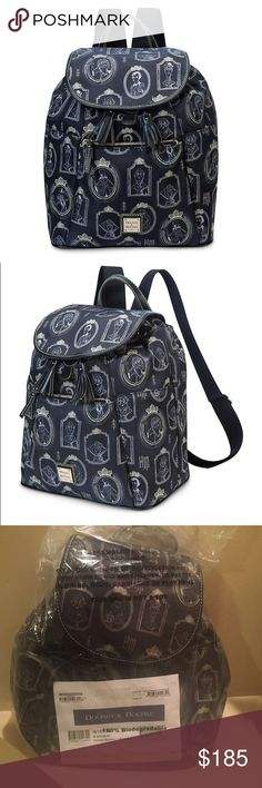 Disney Dooney and Bourke haunted mansion backpack! Beautiful Disney Dooney and Bourke haunted mansion backpack!! Brand new with tags!! Perfect for Disney lovers and haunted mansion fans!! Retail price is $298.00! Let me know if you have any questions. Bag is sealed and wrapped so perfect for a gift!! Tags are also on the bag! Won't ship international. I will ship out next day after I receive payment.  Thank you! Dooney & Bourke Bags Backpacks