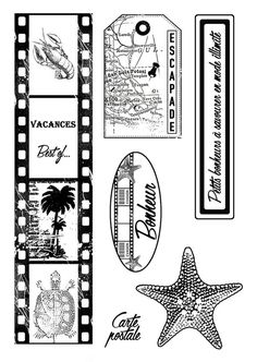 Creation Album Photo, Merci Gif, Project Life, Digi Stamps, Kirigami, Smash Book, Scrapbook Albums, Clear Stamps, Planner Stickers