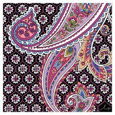 / beautiful paisley patten from longina phillips designs / textile design inspiration for swimwear 11/02/2016