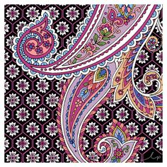 / beautiful paisley patten from longina phillips designs / textile design inspiration for swimwear 11/02/2016