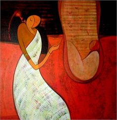 Dattatraya Thombare Painting - SuchitrraArts.com