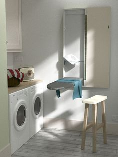 Eureka Deluxe Klapp-Bügelbrett zur Wandmontage (Taupe): Amazon.de: Küche & Haushalt