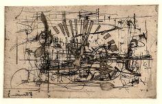 Vladimír Boudník, Magnetický vějíř (A Magnetic Fan) Gallery, Artist, Fan, Kunst, Roof Rack, Artists, Hand Fan, Fans