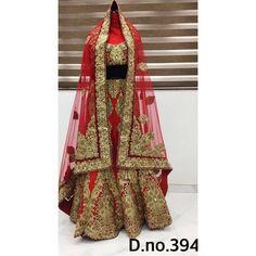 Exclusive Bridal Designer Lehenga ( D.No.394 )