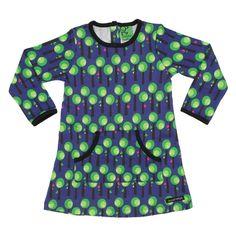 Villervalla - Dark Blackberry Tree Dress - Primary Colours