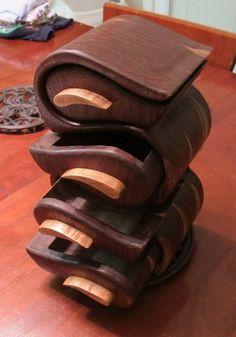 Walnut Bandsaw Box