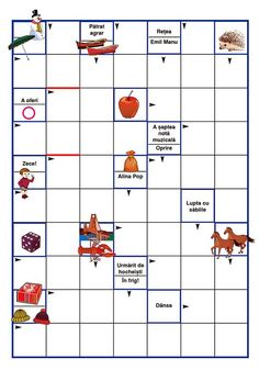 Travel Activities, Toddler Activities, Romanian Language, Easy Halloween Crafts, Picture Puzzles, Preschool Worksheets, Kids Education, Cool Kids, Board Games