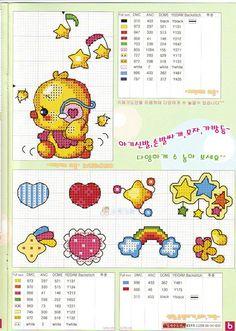 GRAFICOS SODA COREA ,,, SUPER LINDOS (pág. 20)   Aprender manualidades es facilisimo.com
