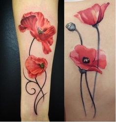 Design like on the left but flowers like on the right